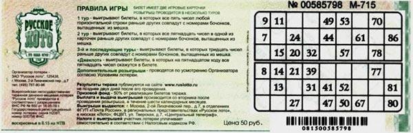Правовые основы организации и проведения лотереи